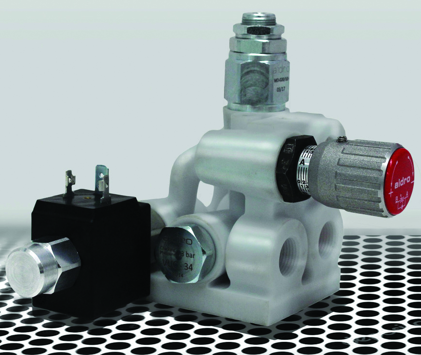 3D打印液压阀